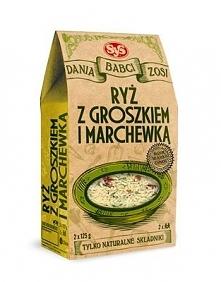 """Ryż z groszkiem i marchewską """"Dania Babci Zosi"""" - SyS"""