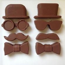 Forma do lodu, czekolady Dżentelmen :).