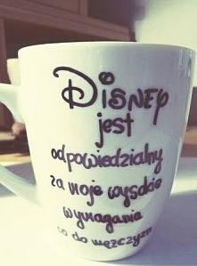 To wszystko przez Disney'a :)
