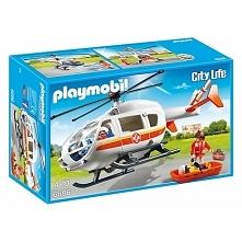 Poniedziałek:) Witajcie:)  Nowy Zestaw Playmobil 6686 dla Dzieci od lat 4 - Śmigłowiec Ratunkowy z 3 Figurkami: dwóch ratowników i małą dziewczynką oraz akcesoriami ratunkowymi....