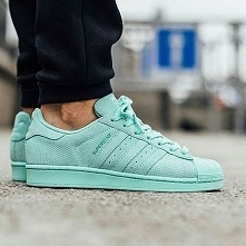 adidas Originals Superstar: Mint Green