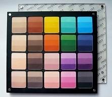 Rainbow Eye Shadow, Freedom System, INGLOT, palety wielokolorowe