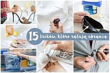 15 trików, które uratują Twoje ubrania - zobacz na twojediy.pl