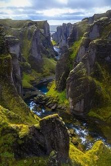 Fjaðrárgljúfur, Islandia