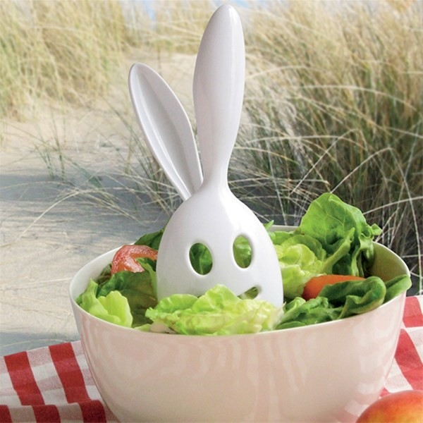 Sałatka... z królikiem! Co powiecie na gadżet od którego każdy nabierze chęci na porcję sałatki?