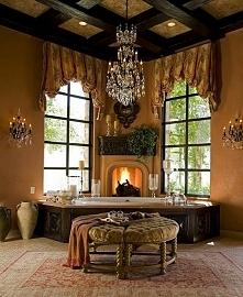Luksusowe wnętrze łazienki w amerykańskim stylu - zobacz jak wygląda ogromna ...