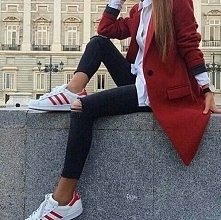 adidas city red style outfit