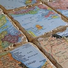 tabliczki z mapą