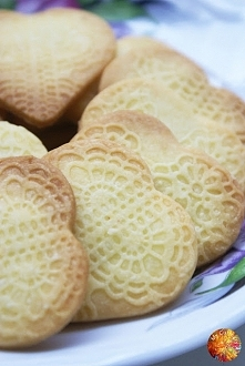 Ciasteczka budyniowe - przepis po kliknięciu w zdjęcie :)