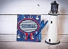 Personalizowany dziennik maluszka marynarski Ahoj
