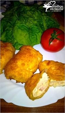 Roladki z kurczaka nadziane serem i wędliną. Szybki obiad. Przepis po kliknię...