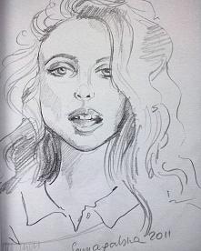 Portret ołówkiem. Wspomnienia ze szkicownika 2011r. Zapraszam do polubienia mojej strony na fb i instagramie. Klik w zdjęcie