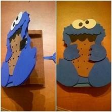 etui na telefon monster cookie