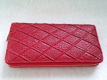 Pikowany portfel w kolorze ...