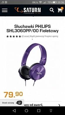 wybrałam te słuchawki... ja...
