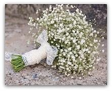 gipsówka jako jeden z elementów wesela.
