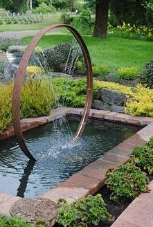 Element wodny w ogrodzie - ...