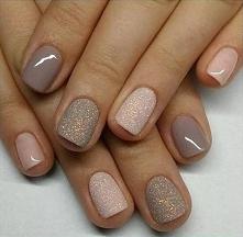 Piękne neutralne paznokcie :)