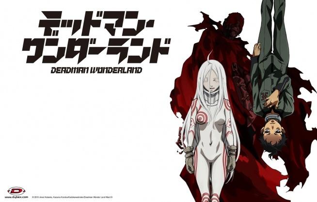 Deadman Wonderland - 10/10 - Ganta Igarashi został skazany za zbrodnię, której nie popełnił, po czym odesłany do więzienia będącego prywatną własnością jakiegoś tajemniczego indywiduum. Co więcej okazuje się, że placówka ta jest współczesną wersją starożytnego koloseum, zaś więźniowie to główna atrakcja tego przedsięwzięcia. Zmieszaj razem sporą dawkę dziwnych dziewczynek, nowo odkryte super-moce, szczyptę teorii spiskowych, a otrzymasz, ni mnie, ni więcej - Deadman Wonderland!