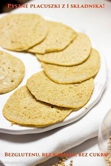 Fit: Placuszki z kaszy gryczanej białej, bez glutenu, bez cukru i bez nabiału!