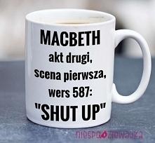 Kubek Makbet ;)