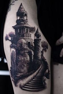 latarnia morska tatuaże