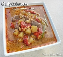 Gulyásleves czyli zupa gula...