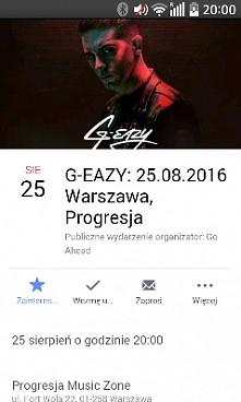 G-eazy będzie grał koncert w PL