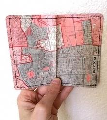 portfel mapa