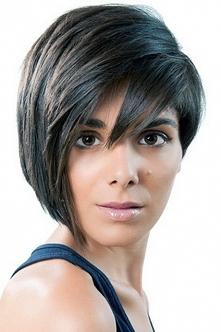 fryzura krótka na codzień