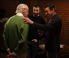 Stan Lee, Chris Evans i Robert Downey jr. ♥