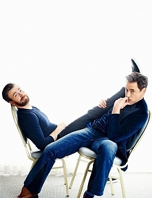 Robert Downey jr. i Chris Evans ♥♥