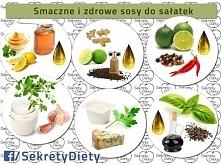 sosy do sałatek :)
