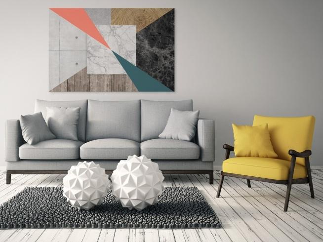 Firmament ekspresji - nowoczesny obraz na płótnie