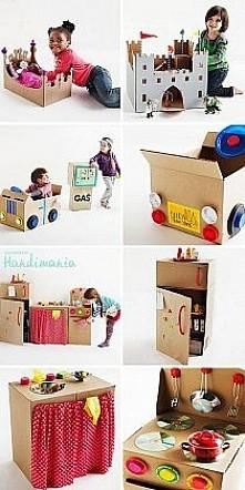 Zabawki z kartonu