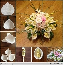 Cukierkowy bukiet kwiatów <3
