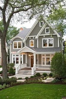 Kolejny wpis z serii 'Amerykański Dom i Wnętrze' na blogu u Pani Dy...