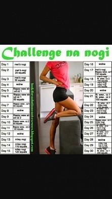 któraś chetna na wyzwanie 30 dniowe ?? Ja zaczynam dzisiaj. Do wakacji mało czasu zostało trzeba poprawić wygląd nóg :) zachęcam do ćwiczeń :) Powodzenia !