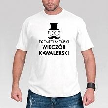 Koszulka Dżentelmeński Wieczór Kawalerski :).