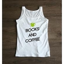 Top damski BOOKS AND COFFEE Teraz w jeszcze lepszej cenie na wiosnę! littlethings.pl