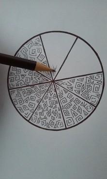 Rozpoczynam tworzenie kolejnej mandali ^^