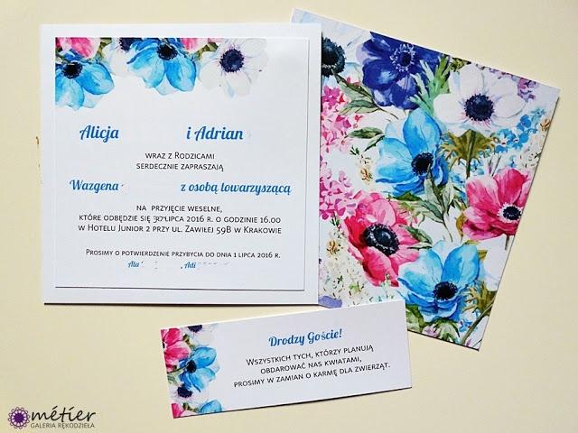 Zaproszenia ślubne #weddinginvitations #zaproszenia #zaproszeniaślubne #wedding #wesele #kwiaty #kwiatowewesele #flowers #flowersweeding #flowerpower