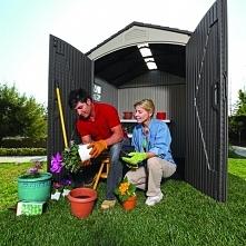 Domek ogrodowy ze sprawnym ...
