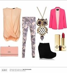 Modnie i elegancko <3 outfit na zakupy jak i do pracy lub na wyjście ze znajomymi ;)