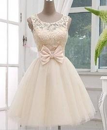 Sukienka z kokardą sukienko...