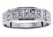 Nowoczesny złoty pierścione...
