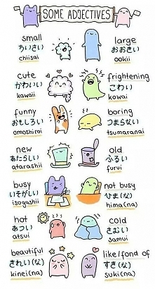 przymiotniki po japońsku
