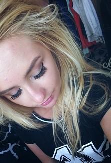 moj dzisiejszy makijaż, koc...