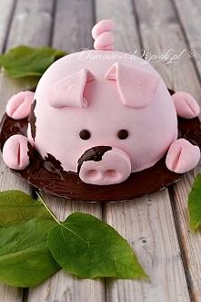 ehh...:)czego to człowiek nie wymyśli...tort świnka