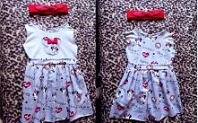 little Minnie :) sukienka pozostały wykończenia